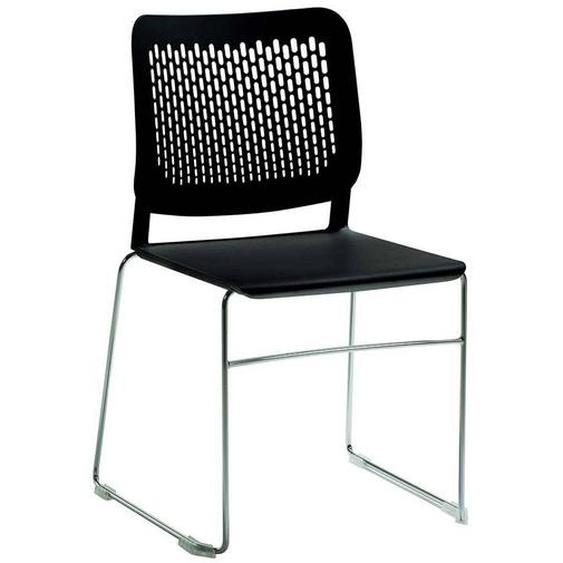 Esszimmer Stuhl in Schwarz Made in Germany