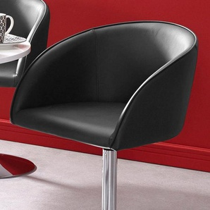 Sessel, schwarz,