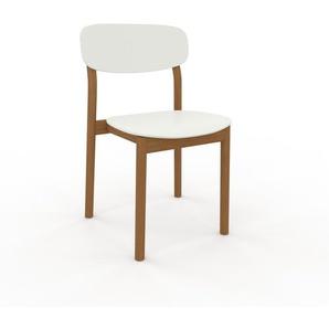 Esszimmerstuhl in Weiß 52 x 82 x 49 cm einzigartiges Design, konfigurierbar