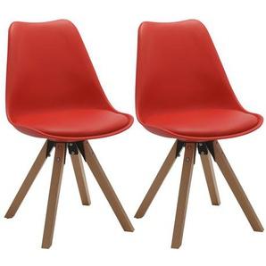 Esszimmerstuhl-Set Neo aus Massivholz