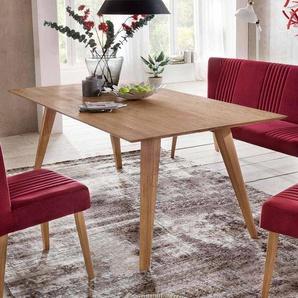 Esszimmertisch aus Eiche Massivholz Mid Century Design