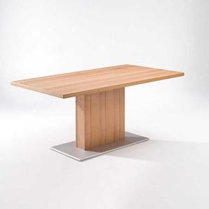 Esszimmertisch aus Kernbuche Massivholz aus Kernbuche