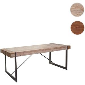 Esszimmertisch HWC-A15, Esstisch Tisch, Tanne Holz rustikal massiv ~ 160x90cm