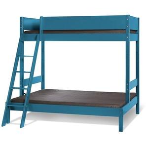Etagen-Kombibett Kids Town Color, blau, 90x200 cm