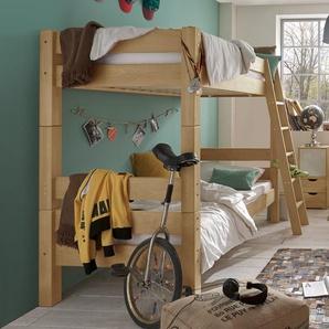 Etagenbett Kids Fantasy, Buche natur, 90x200 cm