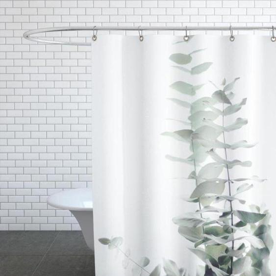 Eucalyptus White 2 - Duschvorhang