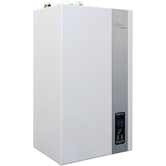 Evenes ® - Gas-Brennwertkombigerät ITACA Modell KC mit integriertem Plattenwärmetauscher Heizung Gastherme KC-24 / 3,2-24,9 KW