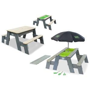EXIT Aksent Sand/Wasser/Picknicktisch (FSC 100%)