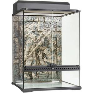 Exo Terra Terrarium Aztec, BxTxH: 45x45x60 cm B/H/T: 45 x 60 schwarz Terrarien Terraristik Tierbedarf