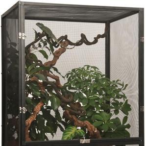 Exo Terra Terrarium Gaze, BxTxH: 60x45x90 cm B/H/T: 60 x 90 45 schwarz Terrarien Terraristik Tierbedarf