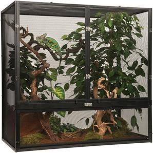 Exo Terra Terrarium Gaze, BxTxH: 90x45x90 cm B/H/T: 90 x 45 schwarz Terrarien Terraristik Tierbedarf