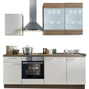 Express Küchen Küchenzeile »Trea«, ohne E-Geräte, Breite 220 cm