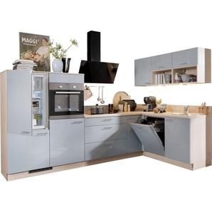 Express Küchen Winkelküche »Scafa« mit E-Geräten, Stellbreite 305 x 185 cm
