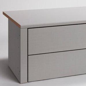 Express Schubladen, Grau, Kunststoff 100 cm
