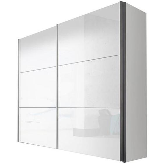 Express Schwebetürenschrank, Weiß, Kunststoff 275 x 216 cm