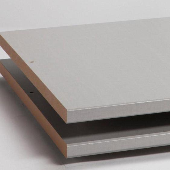 Express Solutions Einlegeboden 50x57x2 cm grau Zubehör für Kleiderschränke Möbel Einlegeböden
