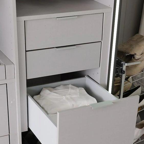Express Solutions Schubkasteneinsatz, Schubkasteneinsatz 50x45x29 cm grau Zubehör für Kleiderschränke Möbel Schubladen