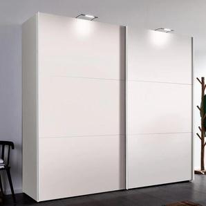 Express Solutions Schwebetürenschrank 0, 250 x 216 (B H) cm, 2-türig weiß Schwebetürenschränke Kleiderschränke Schränke