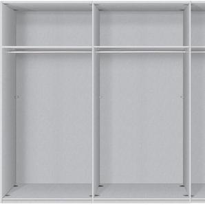 Express Solutions Schwebetürenschrank 0, 300 x 216 (B H) cm, 3-türig weiß Schwebetürenschränke Kleiderschränke Schränke