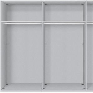 Express Solutions Schwebetürenschrank 0, 300 x 236 (B H) cm, 3-türig grau Schwebetürenschränke Kleiderschränke Schränke
