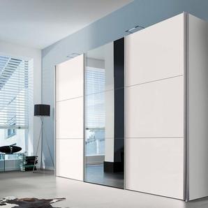 Express Solutions Schwebetüren-Schrank, Höhe 236 cm, weiß, Breite 300 cm