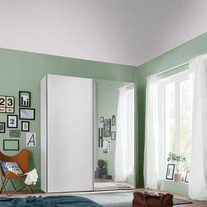 Express Solutions Schwebetürenschrank mit Spiegel, in 2 Tiefen