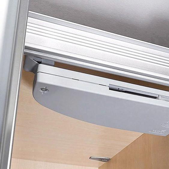 Express Solutions Schwebetürselbsteinzug Einheitsgröße grau Zubehör für Kleiderschränke Möbel Türdämpfer