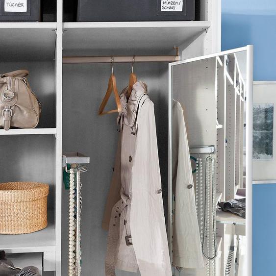 Express Solutions Spiegel Einheitsgröße silberfarben Zubehör für Kleiderschränke Möbel