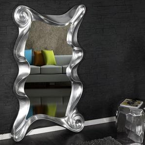 Extravaganter Wandspiegel ALICE 160x106cm silber variabel aufhängbar