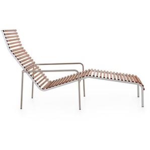 extremis - Extempore Liegestuhl ohne Kissen - Jatoba hardwood - outdoor