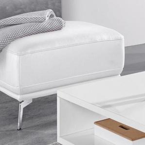 exxpo - sofa fashion Hocker, FSC®-zertifiziert, weiß