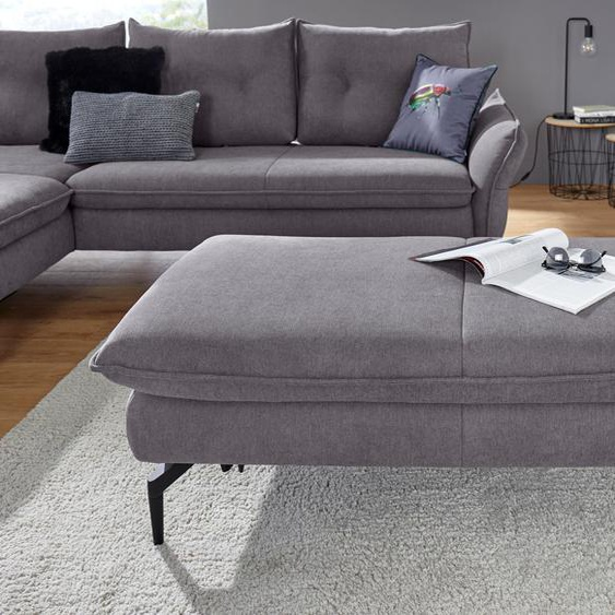 exxpo - sofa fashion  Schemel, FSC®-zertifiziert, silber