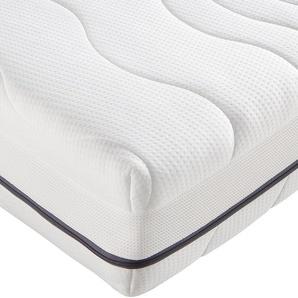 F.a.n. Frankenstolz Taschenfederkernmatratze »ProVita Luxus Med 24 T«, 1x 90x200 cm, weiß, 0-80 kg