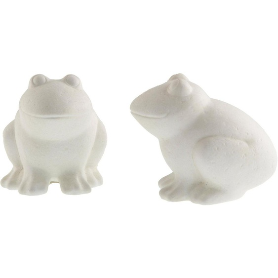 Fabriano Tierfigur »Frosch Nero« (Set, 2 Stück), Höhe ca. 12,5 cm