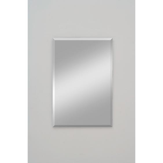 Facettenspiegel Gennil Silber 60 cm x 100 cm