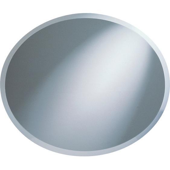 Facettenspiegel Nora Silber 50 cm x 40 cm