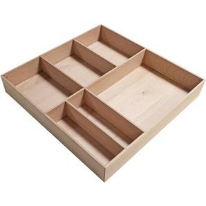 Fackelmann Schubladen-Organizer-Box Buche