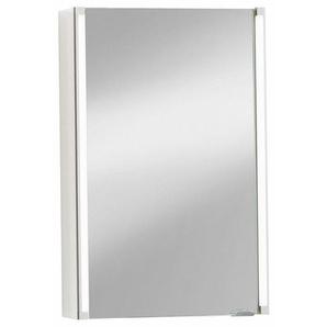 Fackelmann Spiegelschrank 42,5 cm Weiß