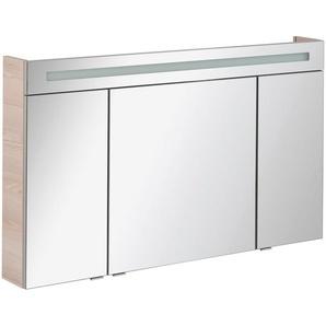 FACKELMANN Spiegelschrank »CL 120 - Alaska-Esche« Breite 120 cm, 3 Türen, doppelseitig verspiegelt
