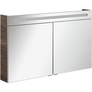 FACKELMANN Spiegelschrank »CL 120 - Ulme-Madera« Breite 120 cm, 2 Türen, doppelseitig verspiegelt