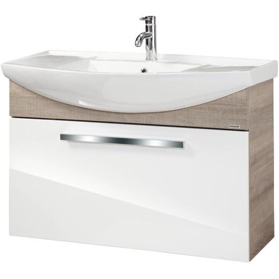 FACKELMANN Waschtisch A-Vero, Breite 102 cm Einheitsgröße weiß Waschtische Badmöbel