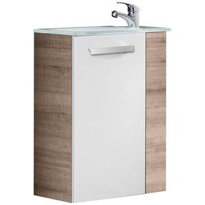 FACKELMANN Mini-Gäste-WC-Lösung »SCENO«, Breite 45 cm, Tiefe 25 cm (2-tlg.)
