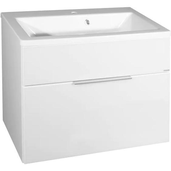 FACKELMANN Waschtisch Kara, Breite 80 cm Einheitsgröße weiß Waschtische Badmöbel