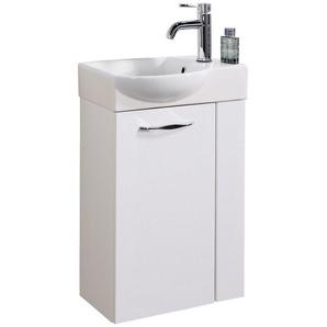 FACKELMANN Mini-Gäste-WC-Lösung »SCENO «, Breite 45 cm, Tiefe 32 cm (2-tlg.)