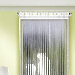Fadenvorhang »Kaktus«, WILLKOMMEN ZUHAUSE by ALBANI GROUP, Stangendurchzug (1 Stück), Fadenvorhang gemustert