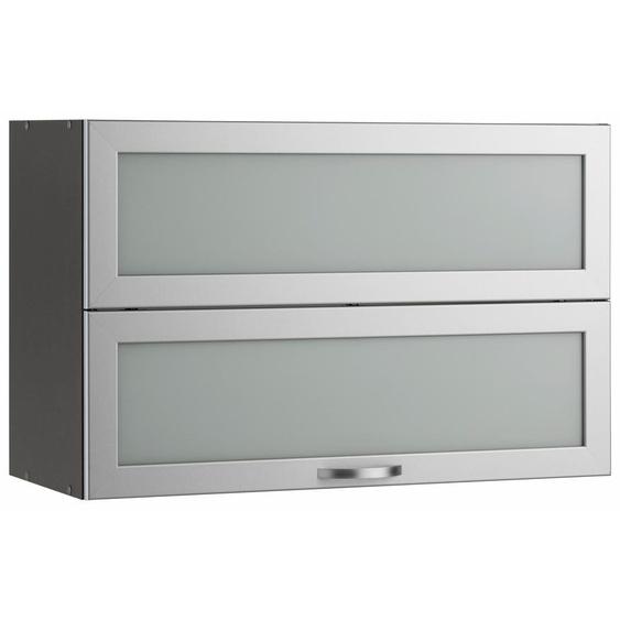 Faltlifthängeschrank »Flexi«, grau, wiho Küchen