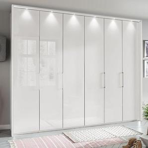 Falttüren-Kleiderschrank Glastüren & Panorama-Element - Westville