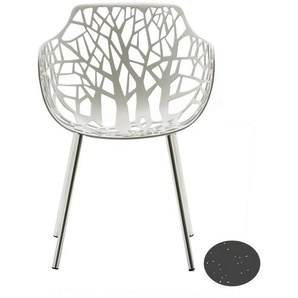 Fast by Weishäupl - Forest Sessel - grau-metallic - outdoor