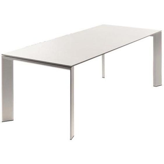 Fast by Weishäupl - Grande Arche Tisch - weiß - outdoor
