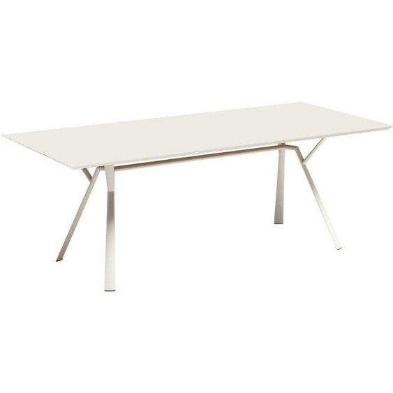 Fast by Weishäupl - Radice Quadra Tisch - rechteckig - 150 x 90 - lichtgrau - outdoor